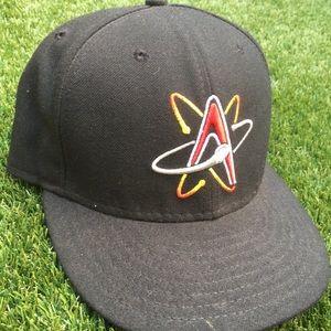 Houston Astros Black New Era Fitted Cap